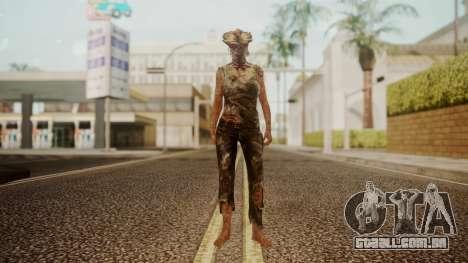 Clicker - The Last Of Us para GTA San Andreas segunda tela