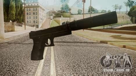 Silenced Pistol by catfromnesbox para GTA San Andreas