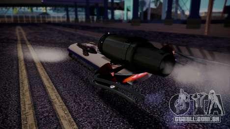 Hovercraft Vocaloid para GTA San Andreas esquerda vista