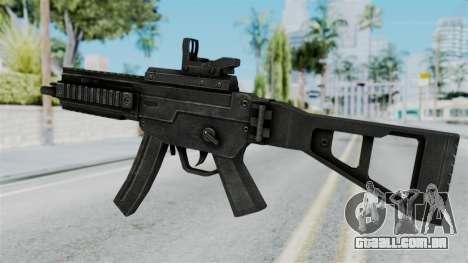 MP5 from RE6 para GTA San Andreas segunda tela