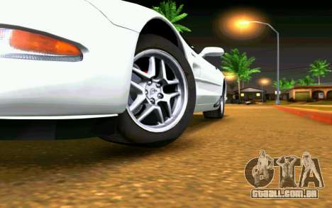Chevrolet Corvette C5 2003 para GTA San Andreas interior