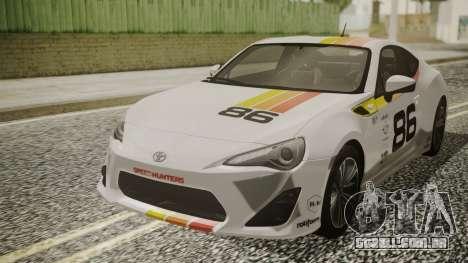 Toyota GT86 2012 para o motor de GTA San Andreas