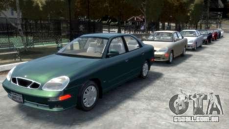 Daewoo Nubira II Sedan SX USA 2000 para GTA 4 rodas