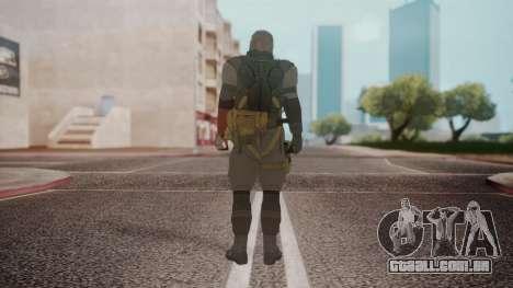 New Venom Snake para GTA San Andreas terceira tela