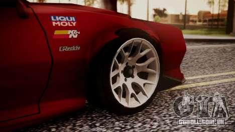 Buffalo R3 (Highly Tuned) para GTA San Andreas traseira esquerda vista