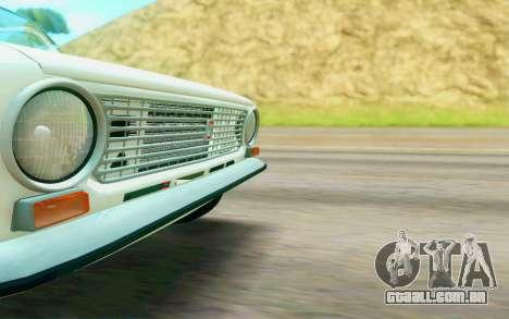 VAZ 2101 Estoque para GTA San Andreas vista traseira