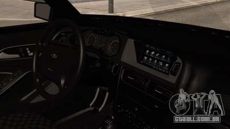 VAZ 2115 para GTA San Andreas vista direita