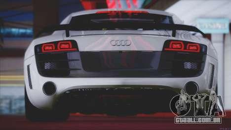 Audi R8 GT 2012 Sport Tuning V 1.0 para as rodas de GTA San Andreas