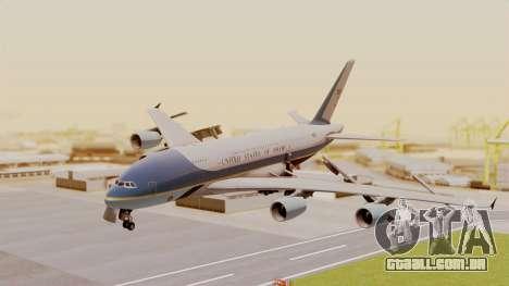 Airbus A380 Air Force One para GTA San Andreas