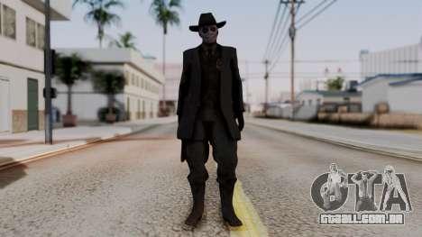 SkullFace Hat para GTA San Andreas segunda tela