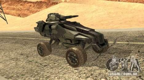 Ghost from Metal War para GTA San Andreas