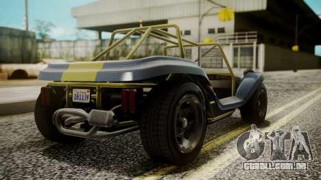 GTA 5 BF Bifta para GTA San Andreas vista traseira