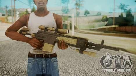 Sniper Rifle from RE6 para GTA San Andreas terceira tela