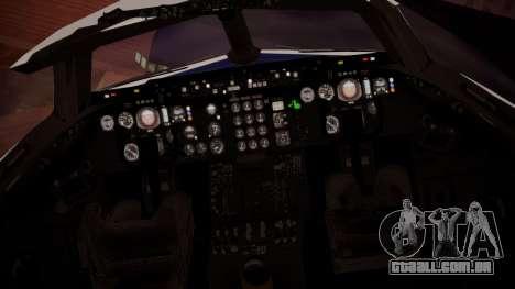 DC-10-30 British Caledonian Charter para GTA San Andreas vista traseira