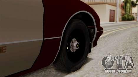Chevy Caprice Station Wagon 1993-1996 SACFD para GTA San Andreas traseira esquerda vista