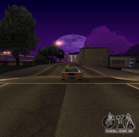 Need for Speed Cam Shake para GTA San Andreas segunda tela