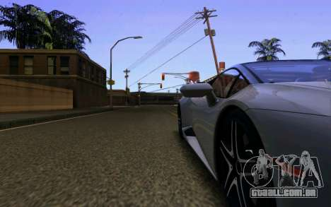Lamborghini Huracan LP610 VELLANO para GTA San Andreas vista inferior