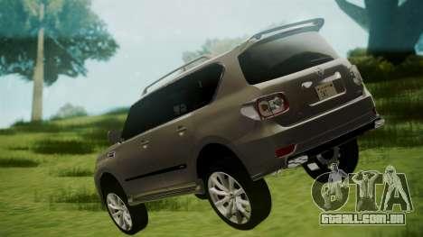 Nissan Patrol IMPUL 2014 para GTA San Andreas esquerda vista