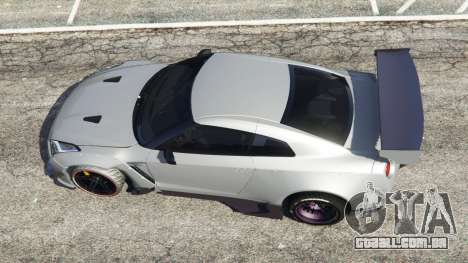 GTA 5 Nissan GT-R (R35) [RocketBunny] voltar vista