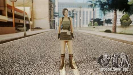 Resident Evil Remake HD - Jill Valentine para GTA San Andreas segunda tela