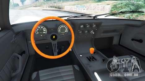 GTA 5 Lamborghini Miura P400 1967 v1.2 traseira direita vista lateral