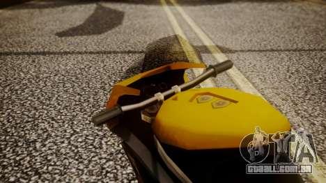NRG-500 Number 7 Mod para GTA San Andreas vista traseira