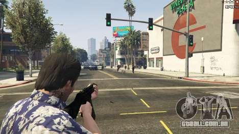 GTA 5 MW3 MP5 décimo imagem de tela