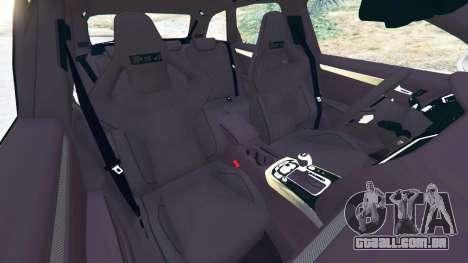 GTA 5 Audi RS4 Avant 2014 vista lateral direita