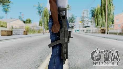 MP5 from RE6 para GTA San Andreas terceira tela