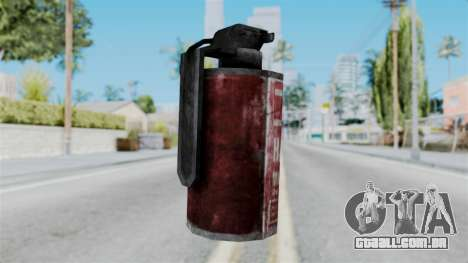 Molotov Cocktail from RE6 para GTA San Andreas segunda tela