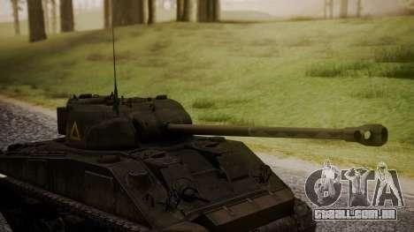 Sherman MK VC Firefly para GTA San Andreas vista direita