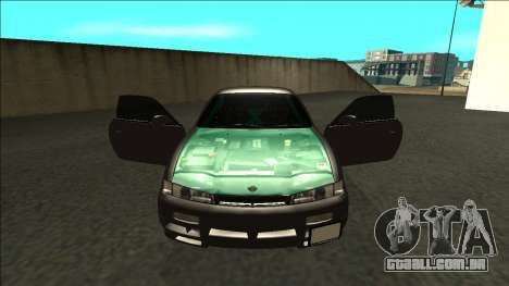 Nissan 200sx Drift para GTA San Andreas vista interior