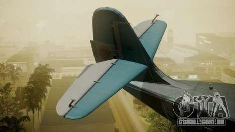 G-21A Argentine Naval Aviaton para GTA San Andreas traseira esquerda vista