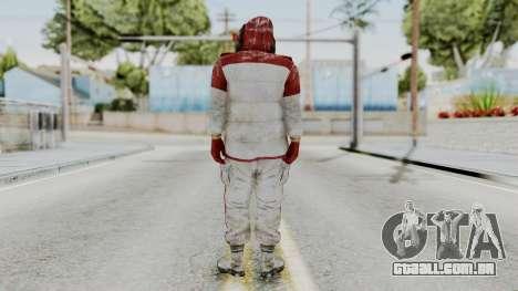 Um bandido de Far Cry 4 para GTA San Andreas terceira tela