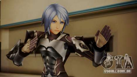 Kingdom Hearts Birth by Sleep - Armor Aqua para GTA San Andreas