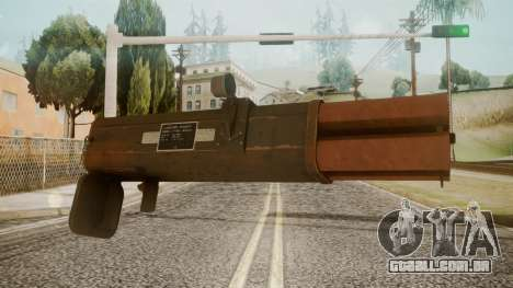 Rocket Launcher by catfromnesbox para GTA San Andreas segunda tela