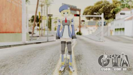 Blazblue - Noel Vermillion para GTA San Andreas segunda tela