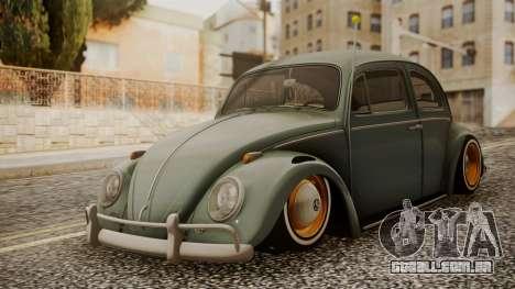 Volkswagen Beetle Aircooled para GTA San Andreas