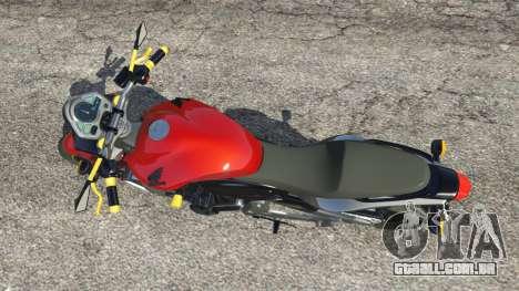 Honda CB 600F Hornet 2010 v0.5 para GTA 5