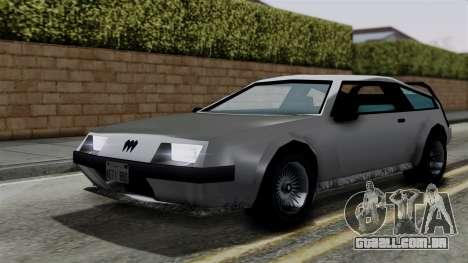 Deluxo from Vice City Stories para GTA San Andreas vista direita