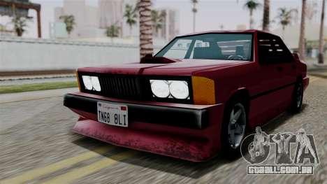 Sentinel XL from Vice City Stories para GTA San Andreas