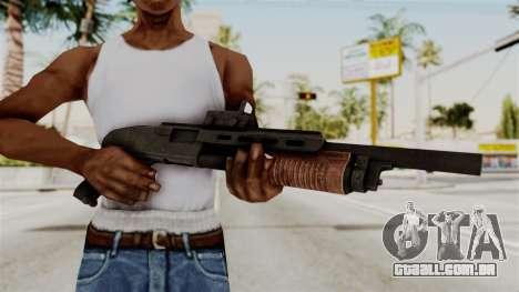 Shotgun from RE6 para GTA San Andreas terceira tela
