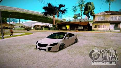 Opel Insignima SCREAM para GTA San Andreas