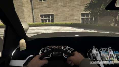GTA 5 Chevrolet Suburban Sheriff 2015 voltar vista