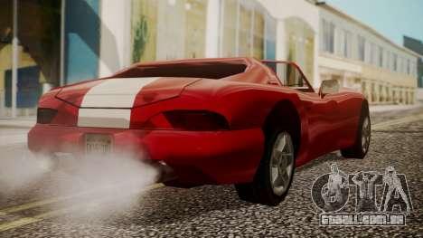 Banshee Edition 2015 para GTA San Andreas esquerda vista