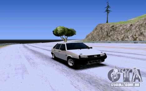 VAZ 2109 Turbo para GTA San Andreas