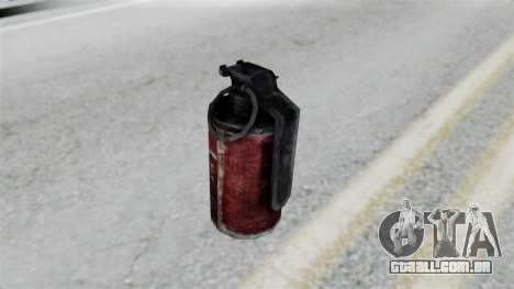 Molotov Cocktail from RE6 para GTA San Andreas terceira tela
