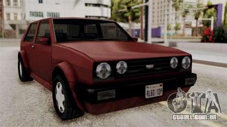 Updated Club Beta v1 para GTA San Andreas