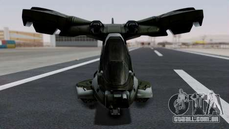Hornet Halo 3 para GTA San Andreas