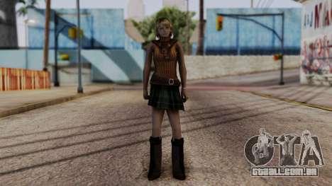 Resident Evil 4 Ultimate HD - Ashley Graham para GTA San Andreas segunda tela